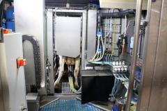 Technik geschütz im Maschinenraum.